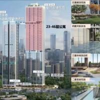 【莱蒙水榭云上-云端公寓】2字头入住龙华 约3.6米 层高 70年产权公寓资产